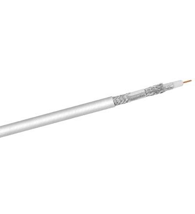 Koaxial-Kabel, 120dB, 4x geschirmt, 100m Spule