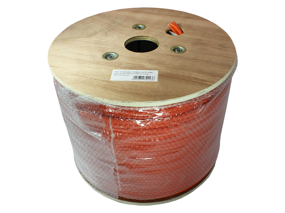 verlegekabel cat 7 s ftp pimf 1000mhz duplex awg23 frnc b orange 500m gc n0067. Black Bedroom Furniture Sets. Home Design Ideas