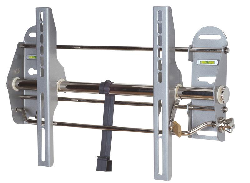 """Wandhalter für Flach-Bildschirm bis 37"""", bis 56kg, Neigung: 15°, silber"""
