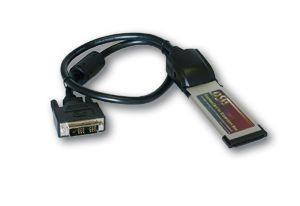 Anschlusskabel, DVI für PCIe Adapter Karte, 1m, Exsys® [EX-1099]