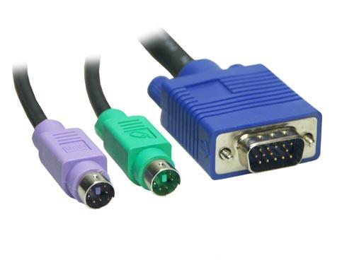 KVM Kabelsatz Stecker / Stecker Länge: 3m, Good Connections®
