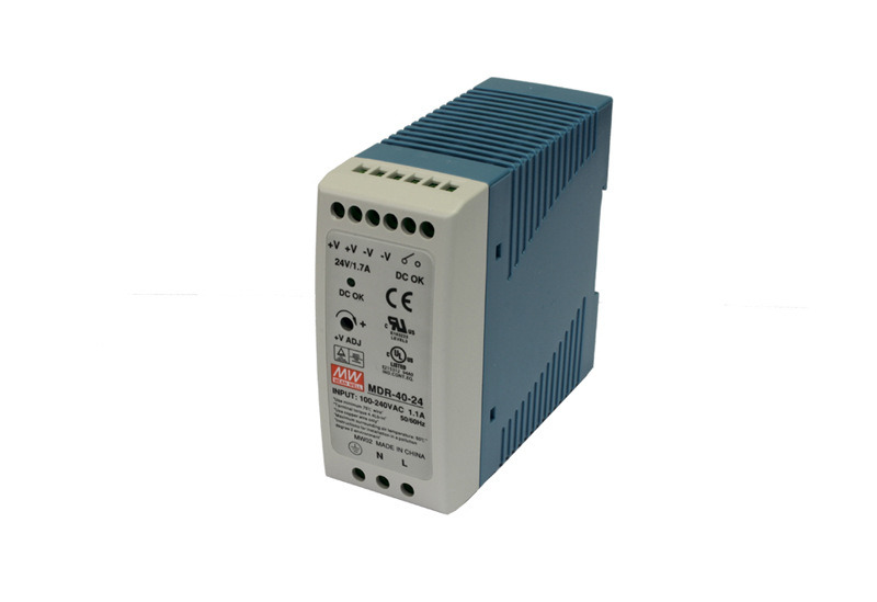 Exsys® Single Output Industrial DIN Rail Power Supply, 40W [EX-6955]